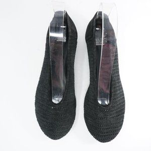 Eileen Fisher Shoes - Eileen Fisher Womens Patch Perforated Ballet Flats